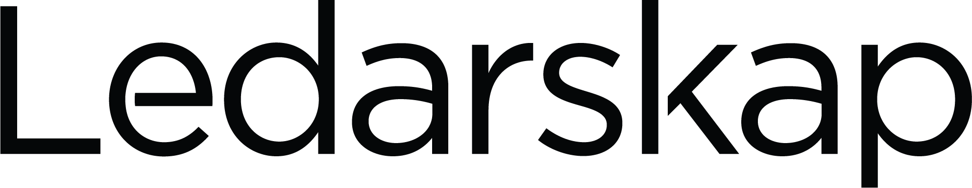 Ledarskap - Logo Black