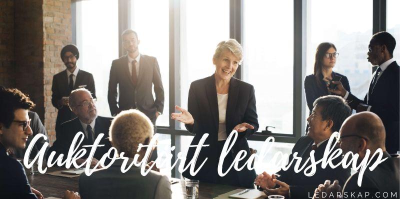 Auktoritärt ledarskap
